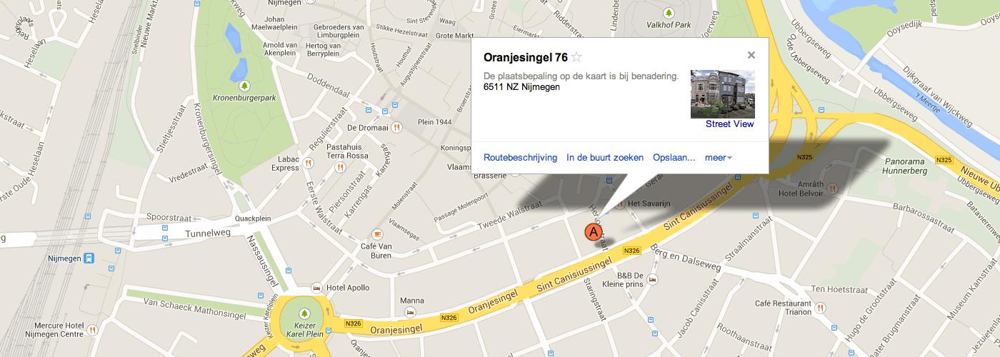 Oranjesingel 76 Nijmegen