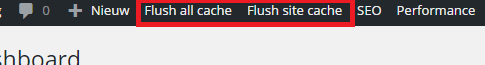 Savvii Plugin Cache Flush