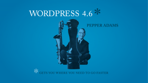 new in wordpress 4.6