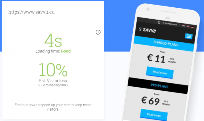 Test Your Mobile Website Speed and Performance tool from Google