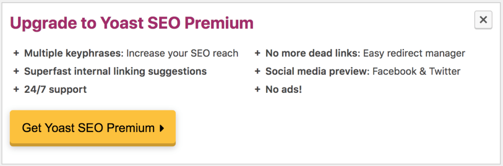 upgrade seo premium