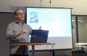 Chris op WordPress Meetup Utrecht