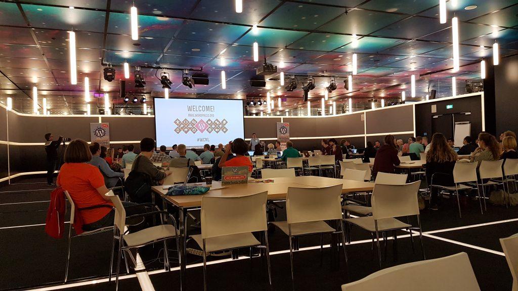 Contributors op WordCamp Nederland Contributor Day