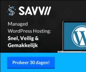affiliate marketing banner savvii