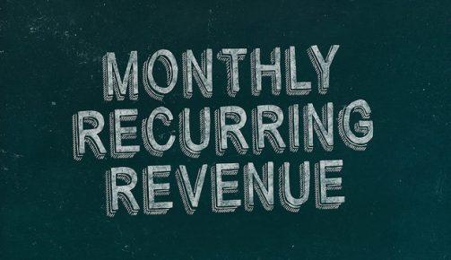 MRR monthly recurring revenue
