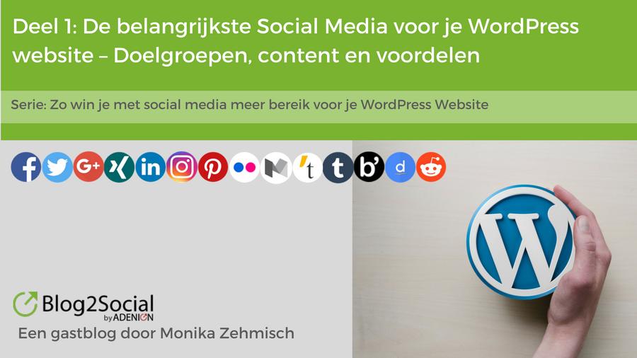 Social Media WordPress